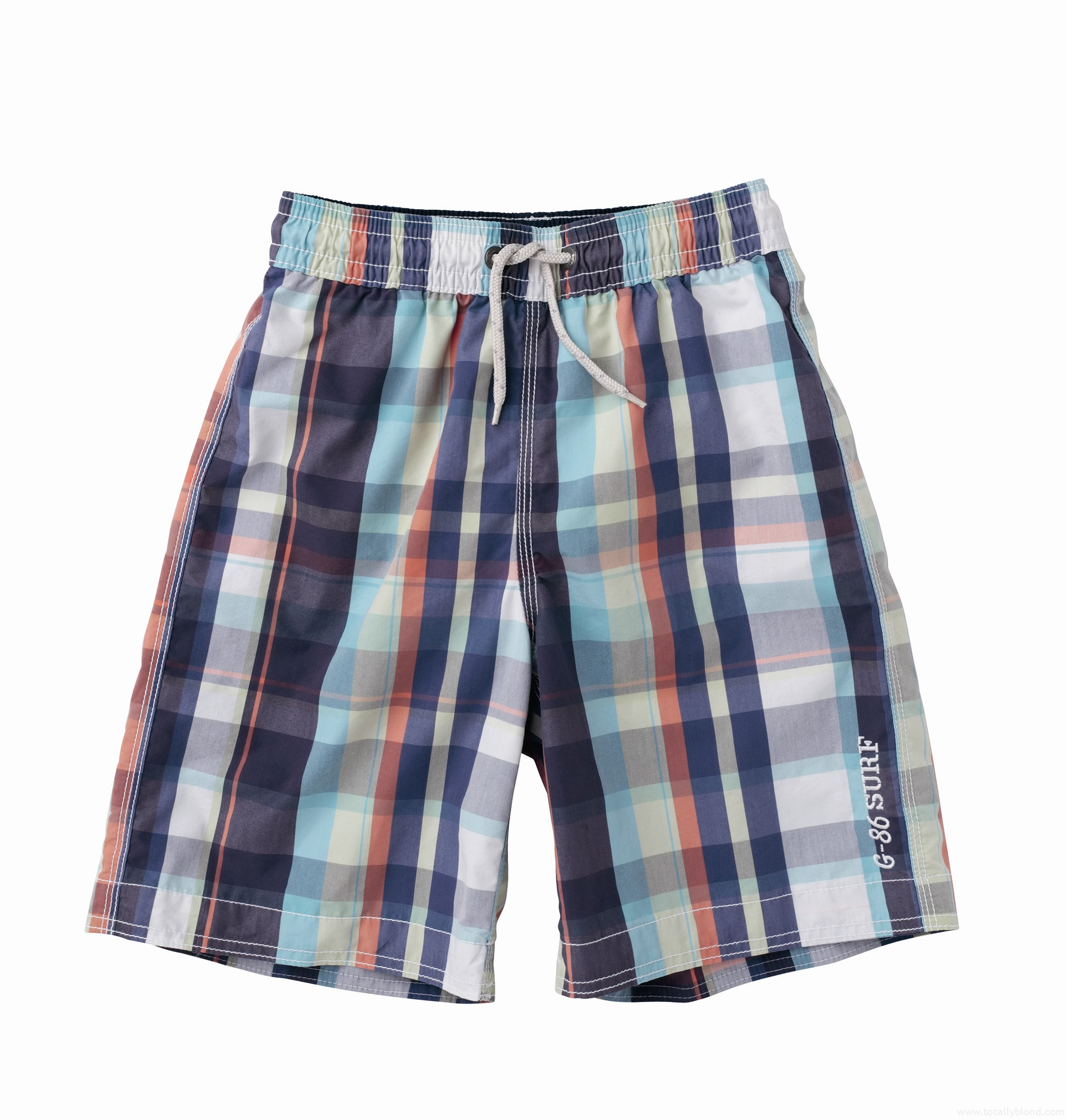 Checked_boardshorts