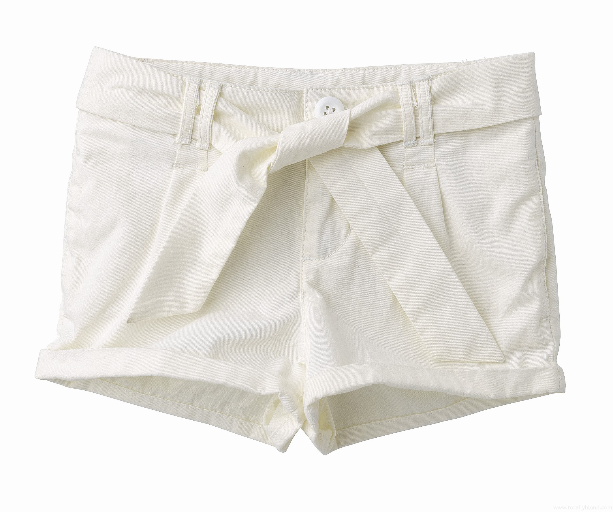 Cream_cotton_shorts