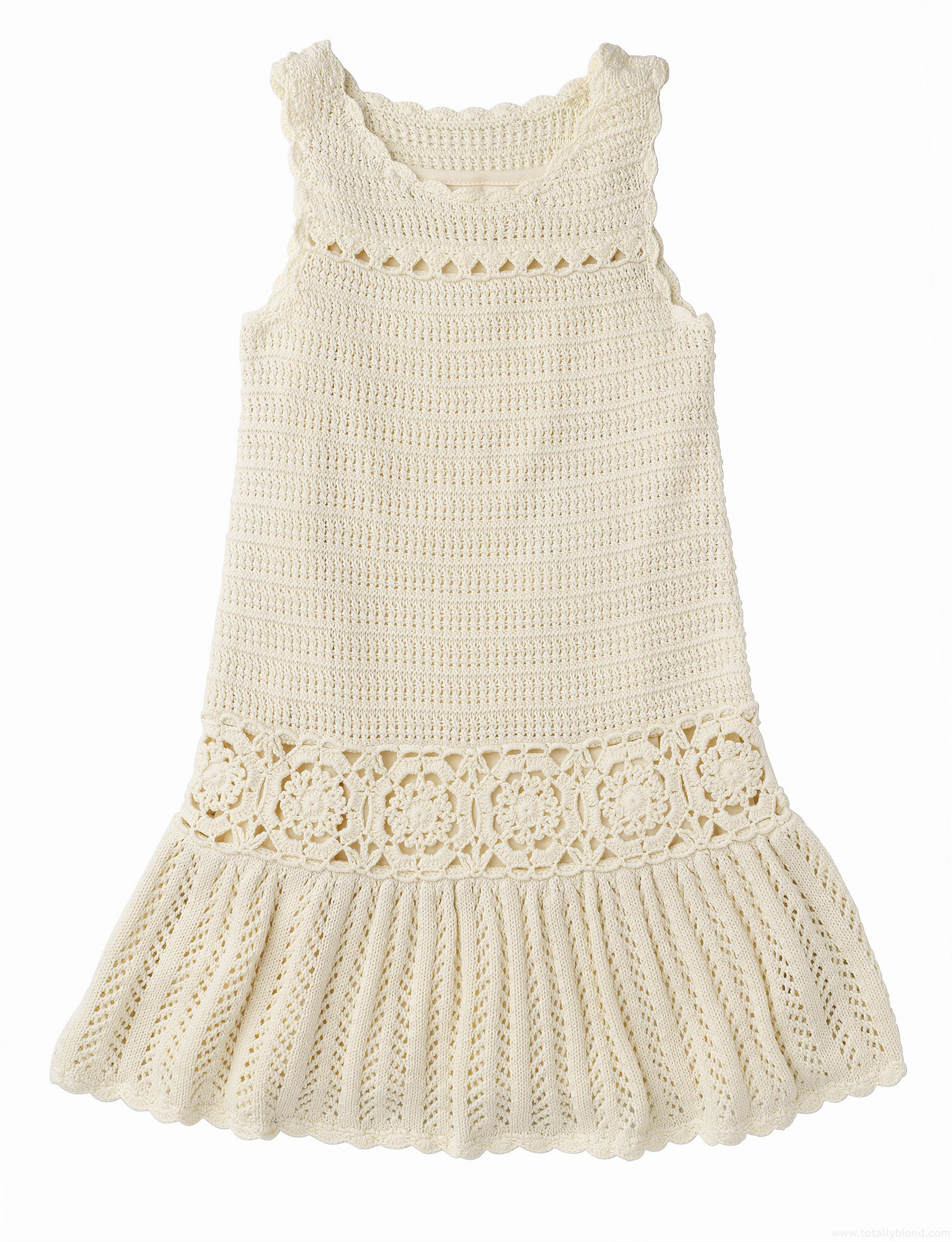 Cream_crochet_dress