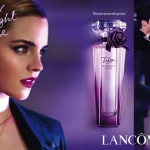 Рекламная кампания парфюма Tresor Midnight Rose от Lancome