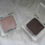 Тени Catrice Absolute Eye Colour оттенка 080 Go, Charlie Brown! и 340 Ooops… Nude did it again. Отзыв