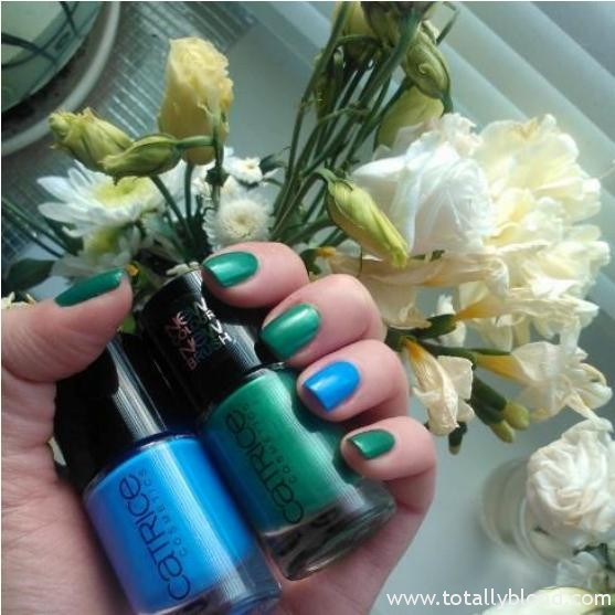 Catrice 875 It's All I Can Blue 740 King Of Greens