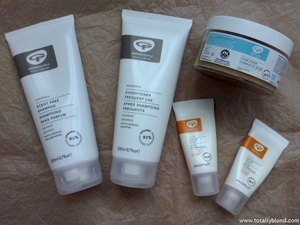 Green People organic products