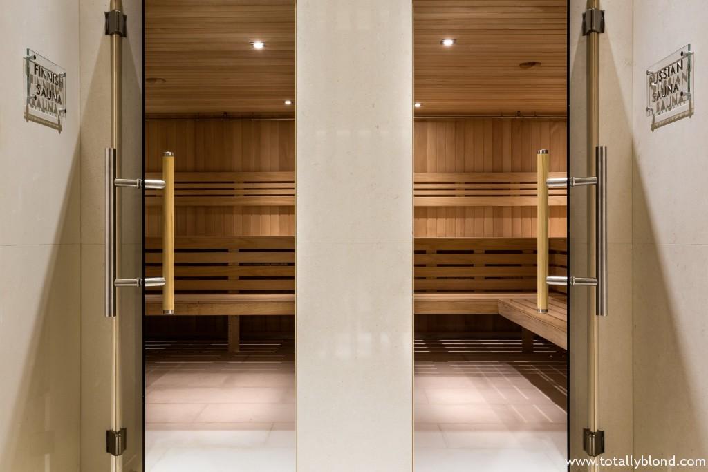 Russian and Finnish Sauna