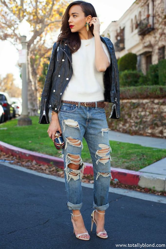 ripped-denim-look