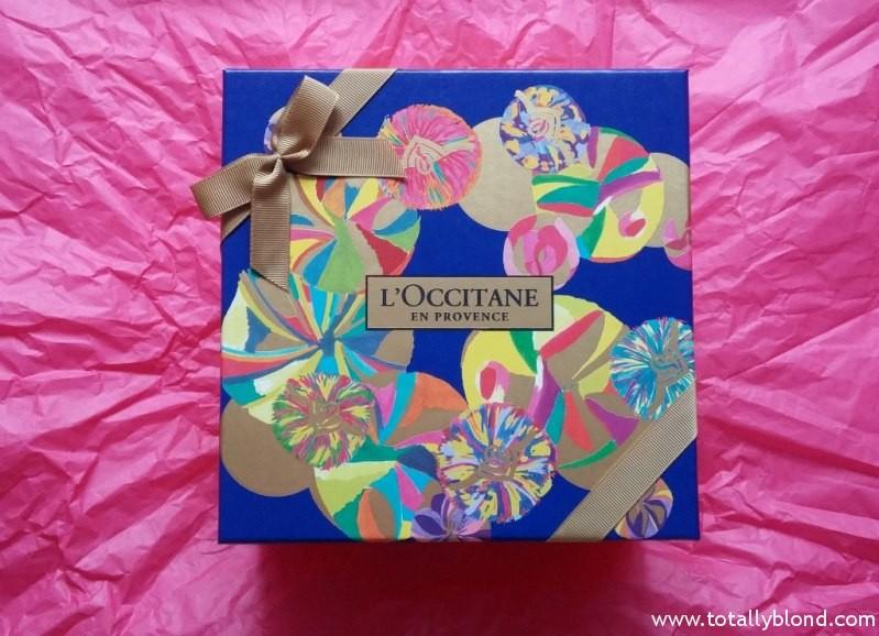 Новогодние наборы L'Occitane. Красивый подарок на Новый год и Рождество