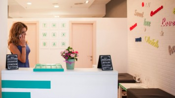 the wax bar reception