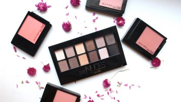 Maybelline The Nudes & FaceStudio Blush