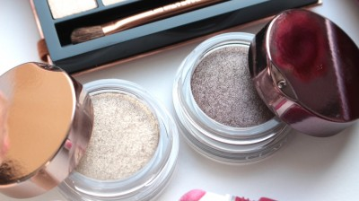 Clarins Ombre Iridescente Shimmering Eyeshadow 04 Silver Ivory, 07 Silver Plum
